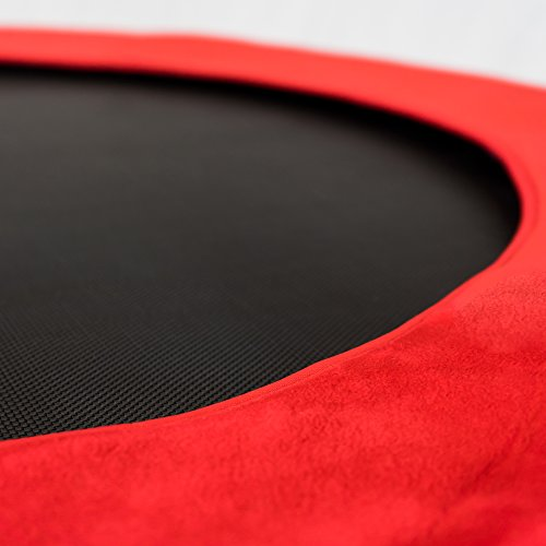"""Pure Fun Kids Jumper: 38"""" Ladybug Mini Trampoline with Handrail, Youth Ages 4 to 10"""