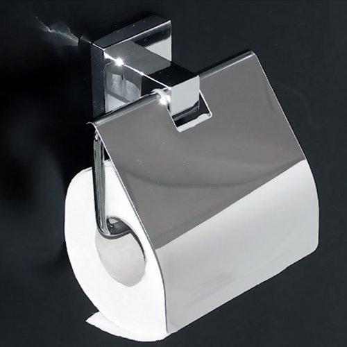 Design Toilettenpapierhalter Cubito12, Toilettenrollenhalter, WC-Rollenhalter, Klorollenhalter