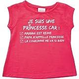 Camiseta Manga Corta Princesa 6Meses