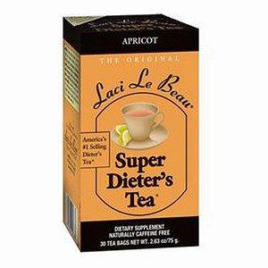 Laci Le Beau Super Dieter's Tea Bags, Apricot 30 ea