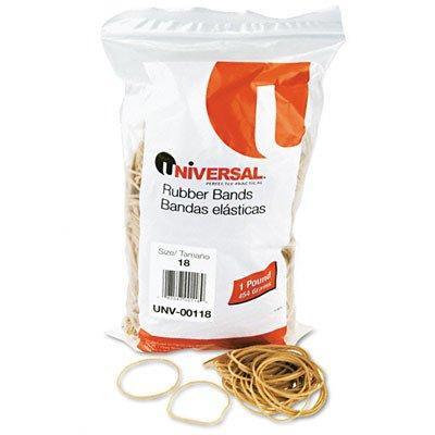 Rubber Bands, 1600 Bands/1 lb Pack