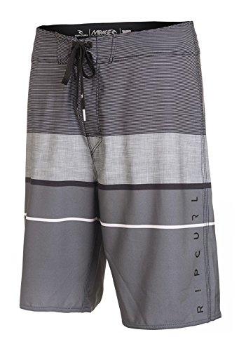 Rip Curl-Costume da uomo Mirage MF Focus 21pollici, Uomo, Boardshorts Mirage Mf Focus 21 Zoll, grigio, 32