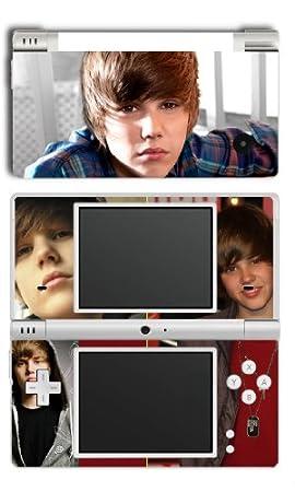 Justin Bieber Nintendo DSi Skin skins Super Hot Beiber Fans