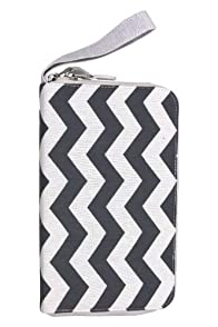 Malia Designs Chevron Zip Travel Wallet