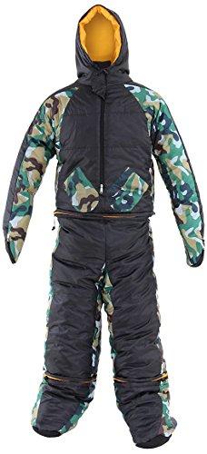 DOPPELGANGER(ドッペルギャンガー) アウトドア ヒューマノイドスリーピングバッグ 人型寝袋 ver.7.0 ヌクヌクシリーズ [最低使用温度 2度] DS-32B