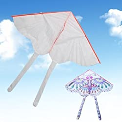 80*48cm DIY Kite Blank Kite Hand Drawing Kite Butterfly Kites