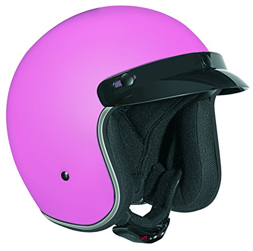 Vega X380 Open Face Helmet (Pink, Small) (Pink Open Face Motorcycle Helmet compare prices)