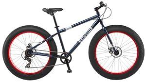 Mongoose Men's Dolomite Fat Boys Tire Cruiser Bike, Blue