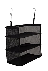 Shelves-To-Go STG-18 18 by 12-Inch Packable Suitcase Shelves, Black
