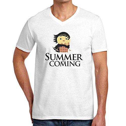 Summer Is Coming Game Of Thrones XXL Uomini V-Neck