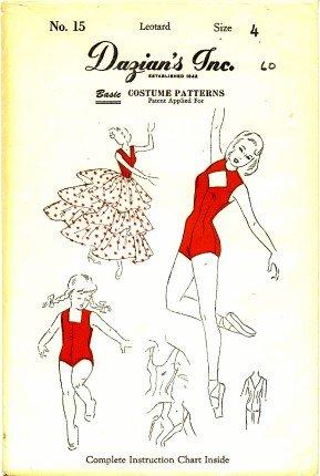 1 Best Buy Dazian\'s No 15 Sewing Pattern Girls Salsa Dance Leotard ...