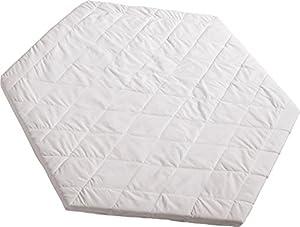 Roba 0307W - Colchón para parque infantil hexagonal, color blanco marca roba