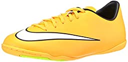 Nike Junior Mercurial Victory V IC Yellow/Black/White/Green Size 2.5 M US