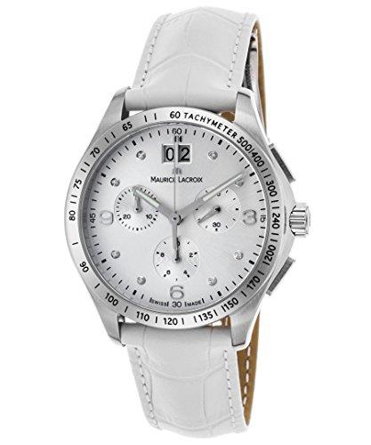 maurice-lacroix-mi1057-ss001-150-wht-womens-miros-diamond-chrono-white-genuine-leather-silver-tone-d