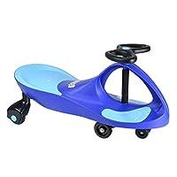 Swing Car Ride On Swivel Scooter Wiggle Gyro Twist & Go Kids Ride-On Car BLUE