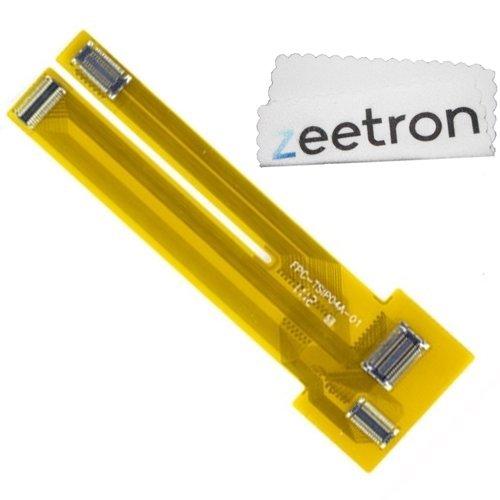Zeetron© Iphone 4 4S Lcd Digitizer Touch Screen Testing Flex Cable + Zeetron Microfiber Cloth