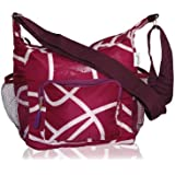 BlueAvocado LNCH-PD Insulated Reusable Collapsible Lunch Tote, Plum Doodle