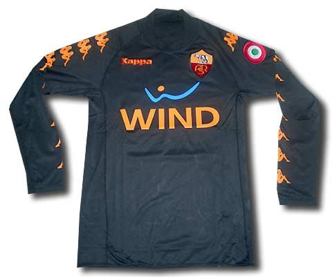 AS Roma 3rd shirt long sleeves 2008-09