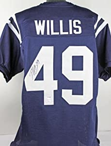 Buy Autographed Patrick Willis Jersey - Mississippi - PSA DNA Certified - Autographed College Jerseys by Sports Memorabilia