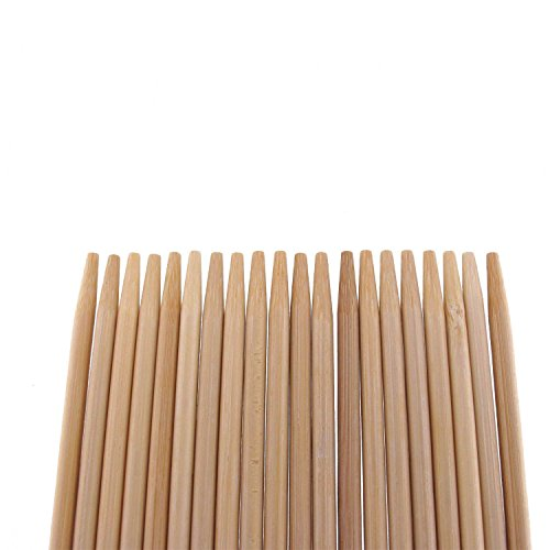 "Find Discount BambooMN Brand Premium 36"" Inch Extra Long 5mm Thick Bamboo Skewers - 100 pc Bag"