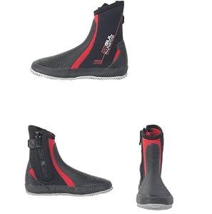 Gul 5mm Dura-Flex Neoprene Zipped all purpose Watersports Boots UK Adult Size 10