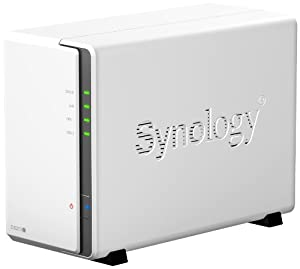 Synology DS213J 6TB (2 x 3TB WD Red) 2 Bay DiskStation Desktop NAS