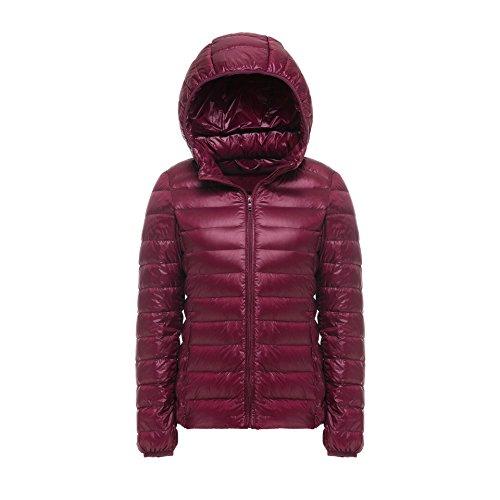 WJP donne ultra leggero rivestimento Packable gi? Outwear tampone piumino W-2014
