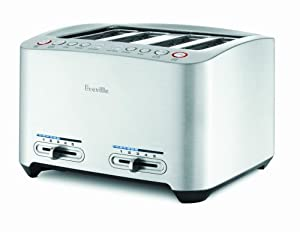 Breville 4-Slice Die-Cast Smart Toaster BTA840XL