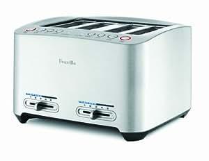 Breville 4-Slice Die-Cast Smart Toaster BTA840XL