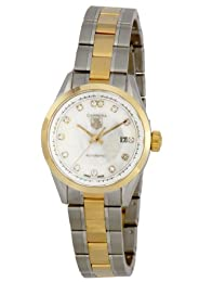 Tag Heuer Women s WV2450BD0797 Carrera Automatic Mother-Of-Pearl Dial Watch