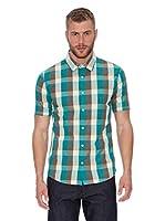 Oxbow Camisa Manga Corta Susun (Verde Claro)