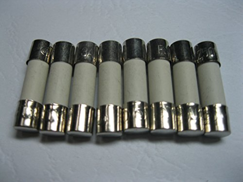 50 Pcs Ceramic Fuse T3.15a 250v 5mm X 20mm Slow Blow [sa]united states bussmann fuse low peak fuse lpj 200sp 200a 600v slow blow