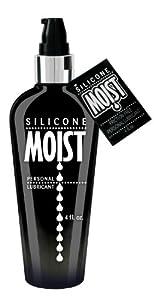 Moist Silicone Moist Lubricant, 4-Ounce