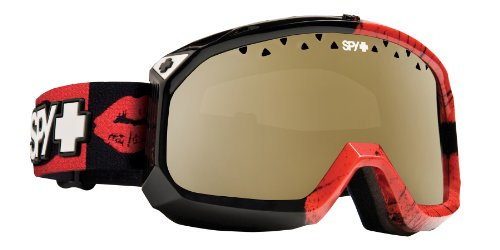 Spy Optic Trevor Goggle (Kiss O Death with Bronze Gold Mirror Lens)