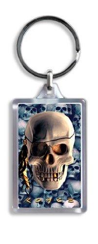 Artgame - Skull - 3D Keyrings