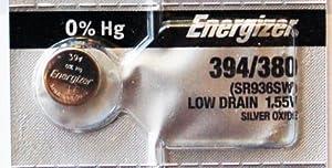 1PC Energizer 394 380 SR936SW Silver Oxide Watch Battery