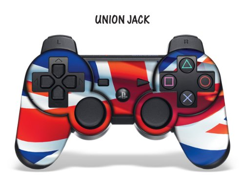 247skins Protective Skin For Playstation 3 Remote Controller - Union Jack