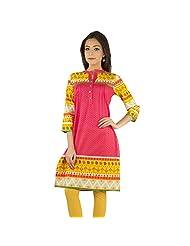 Rama Cotton Women's Traditional Kurti - (14RAMA1421057)