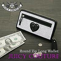 (ジューシークチュール) JUICY COUTURE ラウンドファスナー長財布 レディース YSRU1688小銭入れ付 l-275