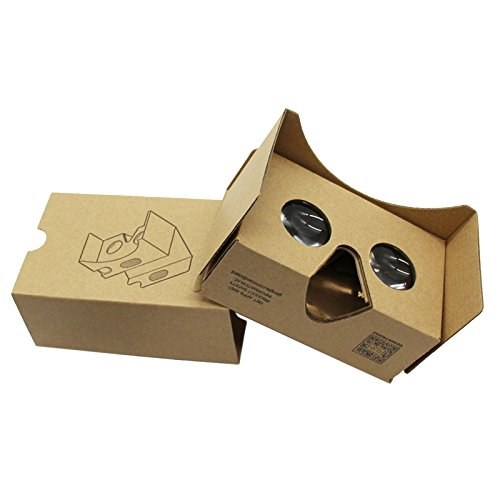 Kangcheng 2016 DIY VR Cardboard V2 Improved Version Virtual Reality 3D Glasses Fits for Android Smartphone & iPhone