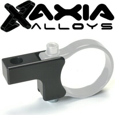 Axia Alloys Black LED Light Bar Bottom Mount