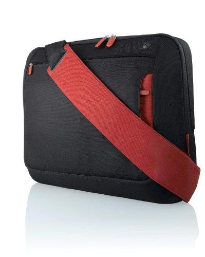 Belkin 10-Inch - 12-Inch Notebook Messenger Bag (Jet/Cabernet)