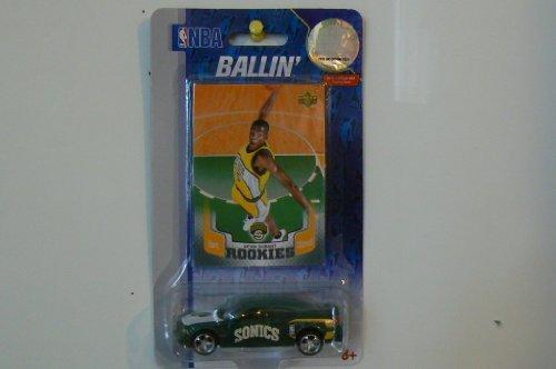 NBA Ballin' Kevin Durant Rookies Sonics Diecast Car