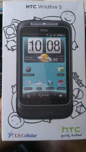 Click to buy US Cellular HTC Wildfire S Bluetooth Android Black Phone - From only $36.99