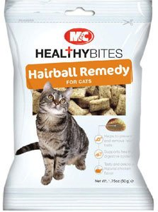 Mark & Chappell Healthy Bites Hairball Remedy Treats for Cats 65g