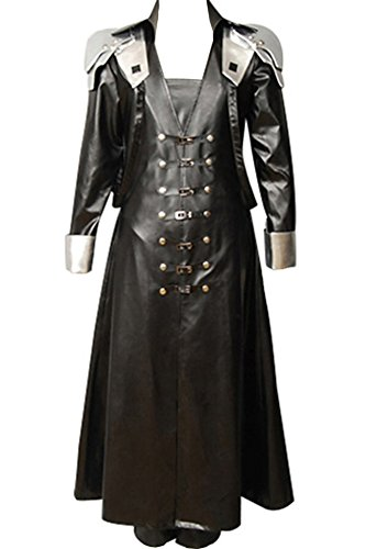 CosplaySky Final Fantasy Costume ff VII 7 Sephiroth Cosplay Halloween Coat
