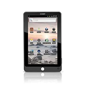 Coby Kyros Touchscreen Tablet