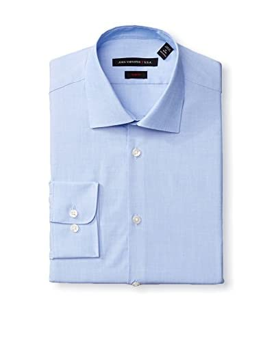 John Varvatos Men's Solid Slim Fit Dress Shirt