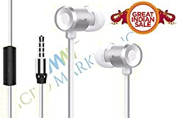 BELL-HS-019-SILVER Metal bass universal earphone with mic,Blue