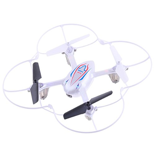 Perman Mini Syma X11C 2.4G RC Quadcopter Drone Helicopter Aircraft Gyro UFO With 2MP HD Camera White